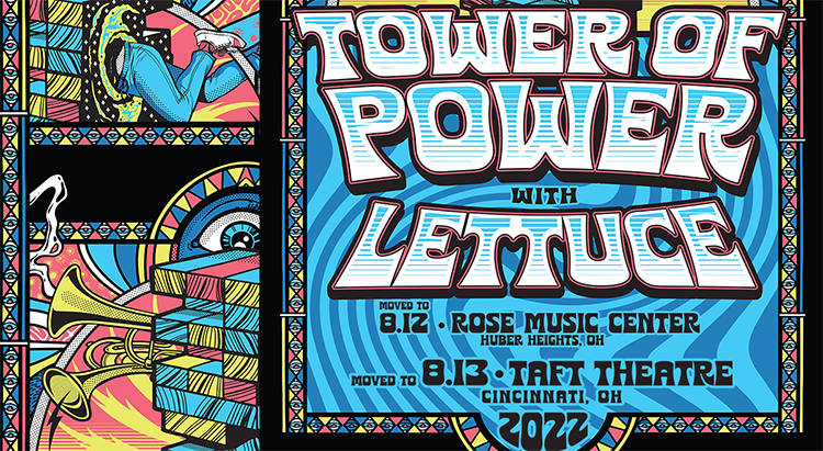 RESCHEDULED: Tower of Power and Lettuce